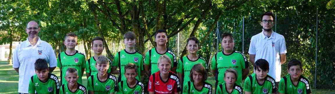 Die D1 beim FC Kempten