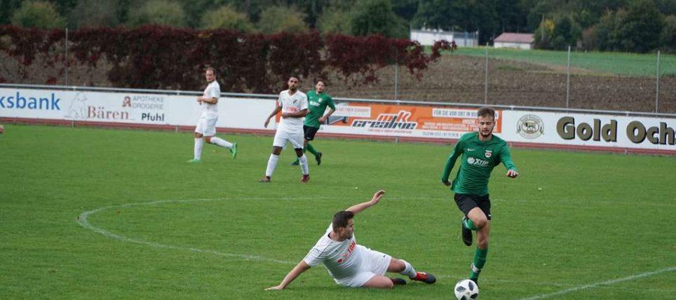 Heimsieg gegen SV Thalfingen II