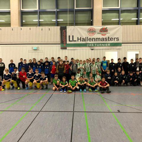Weihnachtsturniere D1 und E2 – Die D1 Mannschaften in Landsberg