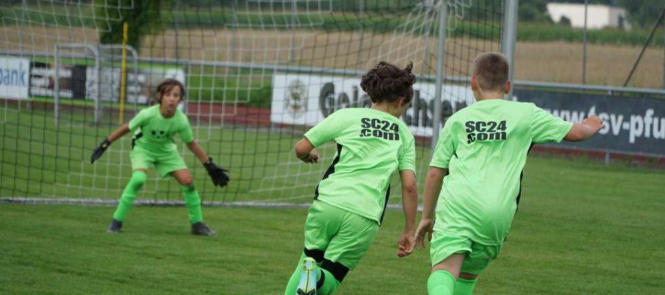Fußballcamp ein voller Erfolg